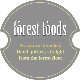 As nature intended.  Hand-picked, straight from the forest floor.